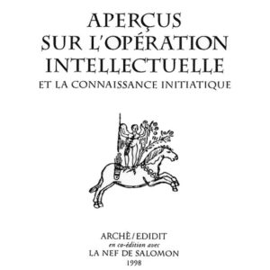 apercus l'operation intellectuelle